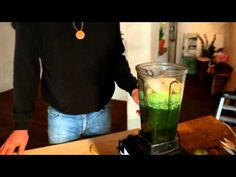 Making a Green Smoothie (Brad's Raw Foods)!!