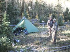 2010 Archery Elk Camp with Marshall Partlow with his GoLite Shangri-La 5