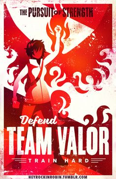 Pokemon Go Team Valor Poster - $15