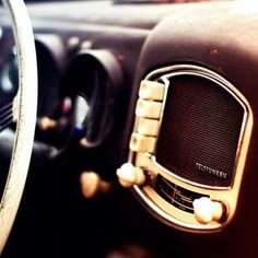 1951 Porsche 356 with Telefunken receiver