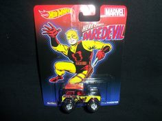 Hot Wheels Marvel Daredevil '67 Ford Bronco Roadster Real Riders Metal/Metal #HotWheels