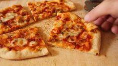 Easy Homemade Pizza Dough make super-easy no-knead pizza dough. Rustic Pizza Dough Recipe, Pizza Dough Recipe Quick, No Knead Pizza Dough, Quick Pizza, Easy Pizza Dough, Crust Recipe, Crust Pizza, Easy Homemade Pizza, Homemade Ramen