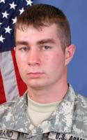 Army Spc. Cory J. Bertrand  Died October 14, 2008 Serving During Operation Enduring Freedom  18, of Center, Texas, assigned to the 1st Battalion, 26th Infantry Regiment, 3rd Brigade Combat Team, 1st Infantry Division, Fort Hood, Texas; died Oct. 14 of wounds suffered when his vehicle encountered an improvised explosive device in Qazi Bandeh, Afghanistan.