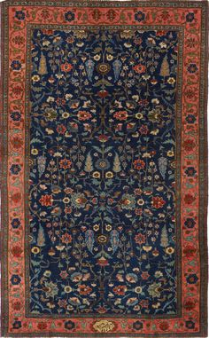 Persian Tabriz rug, signed, Matt Camron gallery Persian Carpet, Persian Rug, Iranian Rugs, Persian Pattern, Tabriz Rug, Interior Rugs, Oriental Rugs, Kilims, Kilim Rugs