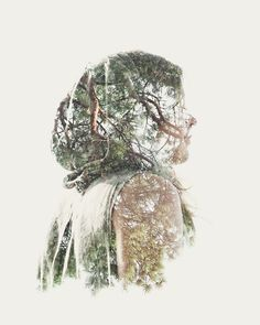 We Are Nature, le foto di Christoffer Relander Double Exposure Photography, Nature Photography, Photography Books, London Photography, Digital Photography, Wedding Photography, Cover Wattpad, Hijab Drawing, Islamic Cartoon