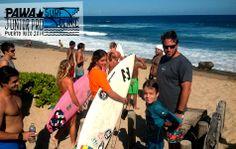 PAWA Junior Pro Surf Clinic Puerto Rico - Day 2  #pawasurfingclinic #pawasurf