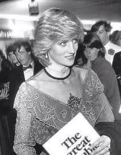 Diana, Princess of Wales. I have never seen this before. Intriguing. Wonder what the colour is.