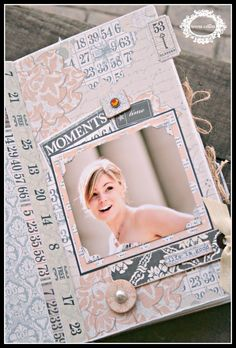 CHerInspirations:  mini book with Teresa Collins Vintage Finds