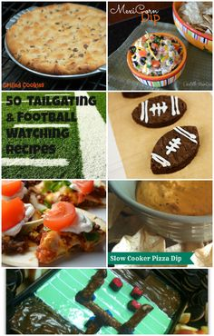 50 Tailgating & Football Watching Recipes