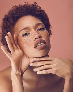 model Jamillah McWhorter - she looks like she smells like cinnamon