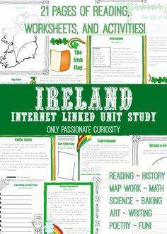Ireland Unit Study –