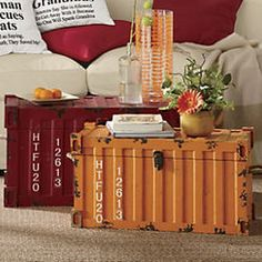 Shipping Container Trunks