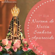Hoje é o 7º dia da Novena de Nossa Senhora Aparecida. Vamos orar juntos? Preparamos para você um folder especial com a novena completa. Clique em http://3c0e24d.leadlovers.com/pagina-de-captura-novena-nsa e baixe o seu!  #lojasantoterco #maria #novena #nossasenhora #joias #acessorios #terço