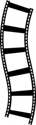 Film Strip clip art. Use for etched glass on souvenir ticket shadow box.