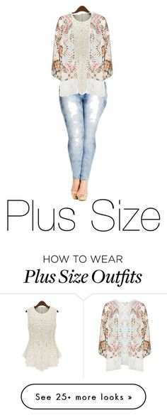 """""""Plus Size"""" by lanvinbeauty on Polyvore featuring City Chic, Mat and plus size clothing"""
