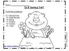 Free printable groundhog day greeting cards free printable ground groundhog day math fun freebie m4hsunfo