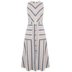 Warehouse Linen Button Jumpsuit Source by CleverMonty Dresses Office Dresses, Casual Dresses, Dresses For Work, Summer Dresses, Striped Midi Dress, Floral Midi Dress, Beautiful Dress Designs, Stylish Outfits, Fashion Outfits