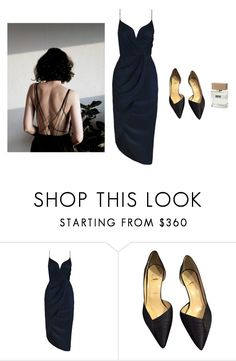 """""""#677"""" by flameberries ❤ liked on Polyvore featuring American Eagle Outfitters, Zimmermann, Christian Louboutin and Bella Freud"""