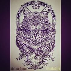Feline Series I: Maine coon #zentangle #doodle #doodleart #art #ink #uniPIN #cats #catsofinstagram #pen #tattoo #bnginksociety #imaginariart #imaginationarts #instaart #instartist_ #instadraw #theartshed #artFido #arts_help #artistsmuseum #worldofartists #art_quality #artofdrawing #spotlightonartists #Art_Spotlight #artmagazine #artsanity #arts_gallery #iblackwork
