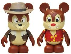 Disney Afternoon Vinylmation Kit Chip and Dale, Chip 'N' Dale Rescue Rangers