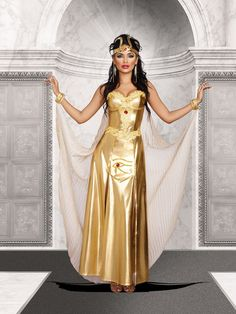 Goddess Of Egypt Costume - Egyptian/Arabian Adult  --from <Costume Discounters> $75.98 {20% off w/ code: fall}