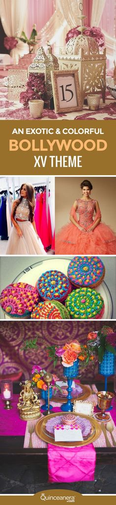 Find out why a Bollywood Quinceanera theme will soon become one of the most popular. - See more at: http://www.quinceanera.com/decorations-themes/bollywood-quinceanera-theme/?utm_source=pinterest&utm_medium=social&utm_campaign=article-011816-decorations-themes-bollywood-quinceanera-theme#sthash.pgncgD0N.dpuf