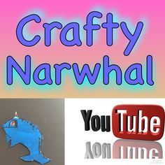 Check out my super crafty, ultra sticky, colourful YouTube channel!