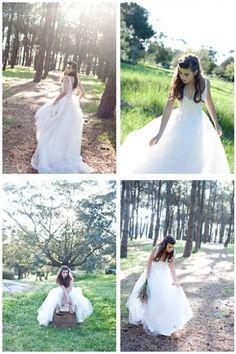 KAREN WILLIS HOLMES - Infinity photo shoot with the Faith wedding gown