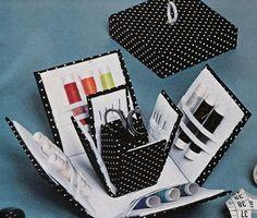 Artesanato Fofo: Caixa de costura
