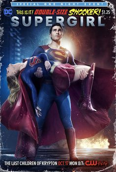 'Supergirl' Recreates Another Classic DC Cover, Plus … 'Superman' Spinoff?