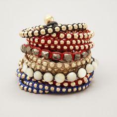 "ACCESSORIES :: Lito ""African Breeze"" bracelet pyritis"
