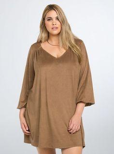 5 plus size camel dresses for minimal style