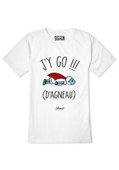 """Tee shirt """"J'y go d'agneau"""""""