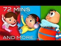 Jack and Jill | Plus Lots More Nursery Rhymes | From LittleBabyBum! - YouTube