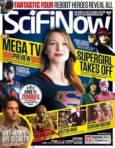 [ACTUALIZACIÓN] Melissa Benoist portada de la revista SciFi Now. Extractos de la revista Total Film sobre Supergirl. ~ Mundo Superman