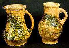 Drinking jugs Late Medieval 1350-1450