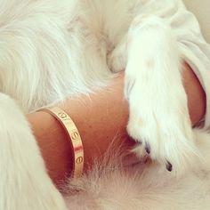 Cartier gold love bracelet - WANT