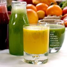 SOKI OCZYSZCZAJĄCE Easy Smoothies, Fruit Smoothies, Workout Bauch, Drinking, Healthy Lifestyle, Juice, Curry, Good Food, Food And Drink