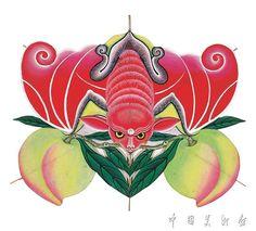 Kite Making, Chinese Calendar, China, Chinese Painting, Folk, Christmas Ornaments, Holiday Decor, Drawings, Illustration