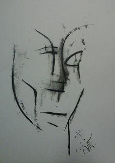 Lenka / oil,paper 30 x 20 cm