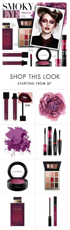 """""""Newchic style - Beauty"""" by mymilla ❤ liked on Polyvore featuring Gucci, Bobbi Brown Cosmetics, MAC Cosmetics, Dolce&Gabbana and Sephora Collection"""