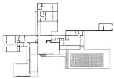 Gallery of AD Classics: Kaufmann House / Richard Neutra - 14 Chinese Architecture, Modern Architecture House, Futuristic Architecture, Architecture Plan, Modern Houses, Richard Neutra, Casa Kaufmann, Moore House, Desert Homes