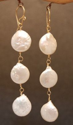 Cosmopolitan 55 Ivory coin pearls