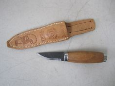 Brusletto Original Troll Fixed Blade Knife with Sheath - Norway  | eBay