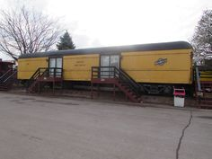 An old Railway Post Office Car from…