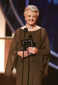 Angela Lansbury ~ I love this dress !