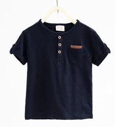Button neck T-shirt-View all-T-SHIRTS-BABY BOY | 3 months-3 years-KIDS | ZARA United States