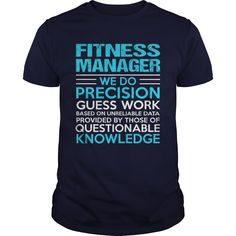 FITNESS MANAGER T-Shirts, Hoodies. CHECK PRICE ==► Funny Tee Shirts