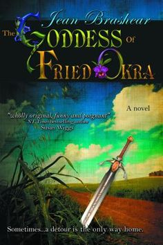 """Google: Grief. Hope. Love. Sword fights. And the crisp golden glory of fried okra. Join Eudora """"Pea"""" O'Brien on her funny, poignant journey seeking the reincarnated soul of her sister…and the family of misfits she finds along the way: starving kitten, pregnant teen & sexy con man trying to go straight. With two unlikely gurus, a grandmotherly café owner and a ferocious gun dealer named Glory, Pea struggles to learn swordplay and the art of perfect fried okra in the search for her own lost…"""