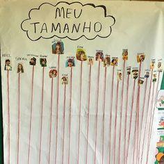 Meu tamanho Reggio, Kindergarten Classroom, Kids Education, Pre School, Teaching Kids, Professor, Diy And Crafts, Teacher, Activities
